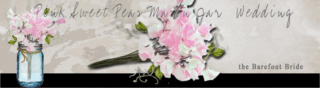 Pink Sweetpeas Mason Jar Collection header